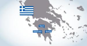 Neue Standorte in Griechenland